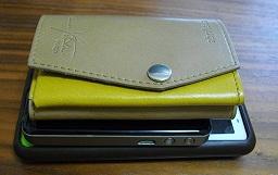 スマホ on Wifiルータ on 小さい財布
