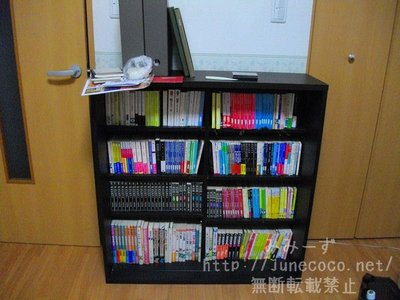 本を移した後。あふれた本がなくなり、若干だが余裕ができた